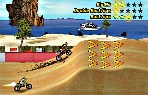 Click to view Mad Skills Motocross 1.0.10 screenshot