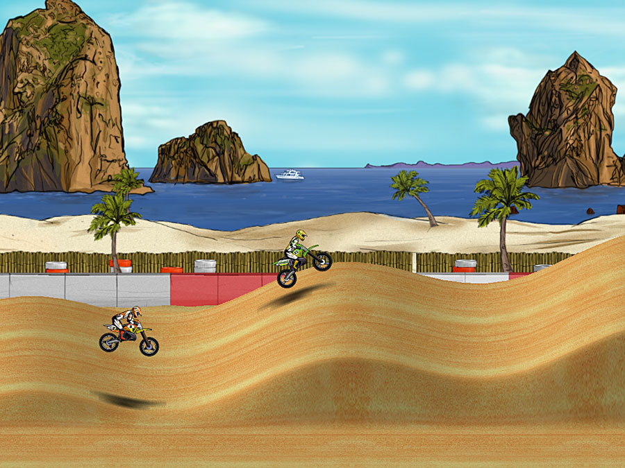 Click to view Mad Skills Motocross 1.0.6 screenshot